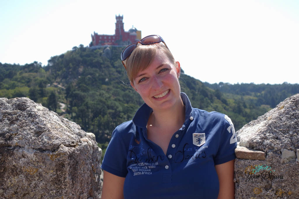 Maurenburg mit Blick zum Schloss von Pena