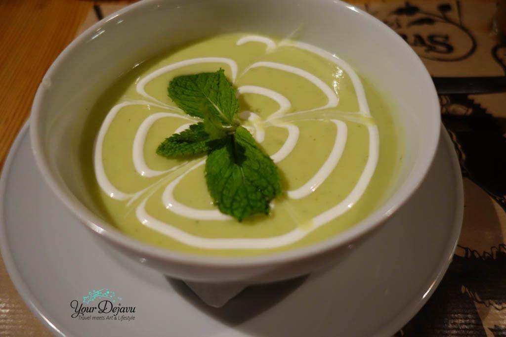 Kalte Suppe im Las Ficheras