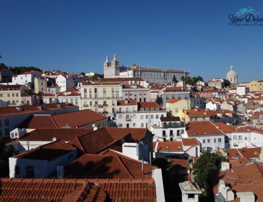 Alfama der älteste Stadtteil in Lissabon