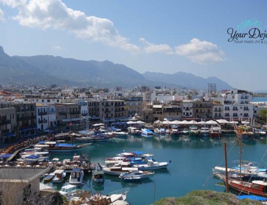 Ausblick Girne Hafen