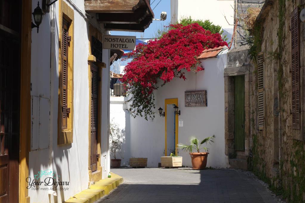 Straße in Girne