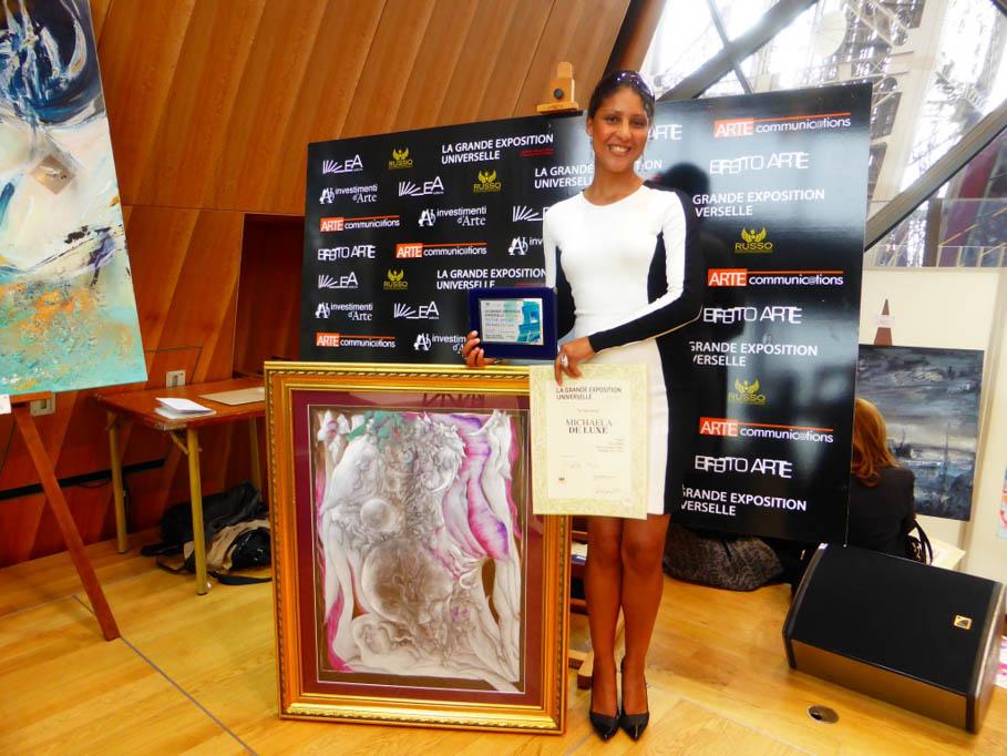 Preisträgerin Michaela de luxe