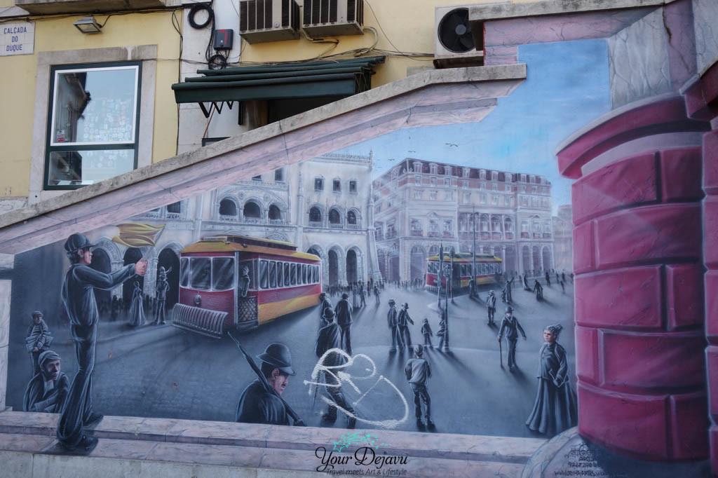 Streetart Rossio