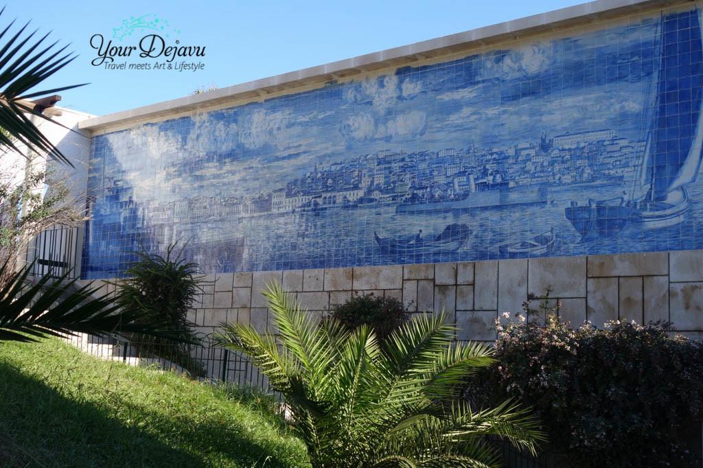 Azulejo in Lissabon