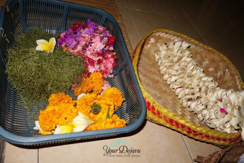 Blumen für Opfergaben